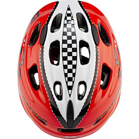 Cratoni Akino Helmet Kids racing car/red gloss
